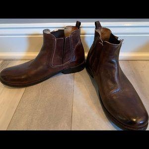 Bed Stu brown booties